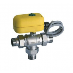 Motorized 3-way zone valve...