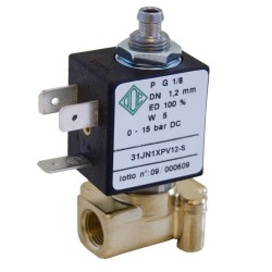 "3-way solenoid valve 1/8 ""31JN1XPV12-S 12v 24v DC water, air, diesel"