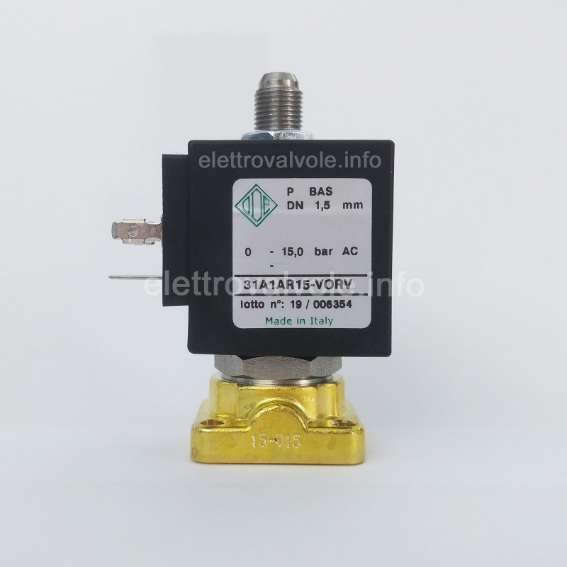 31A1AR15-VORV Ode 3-way solenoid valve for coffee machines Spaziale, Conti, BFC, Royal, Galileo, Grandoge,