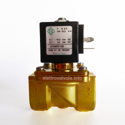 Solenoid valve 3/4 inch normally closed 21H9KV180