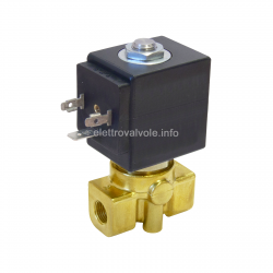 Solenoid valve 1/4 21A2KV25 2-way diesel, petrol, fuels etc
