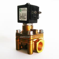 Solenoid valve 100 bar car wash 1/2 inch nc 4966K0Q120