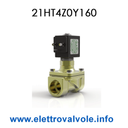 Solenoid valve 1/2 normally...