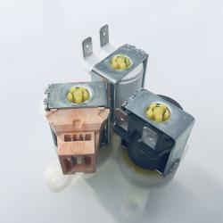 3-way solenoid valves 90°...